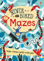 Never Get Bored Wipe-Clean Cards: Mazes