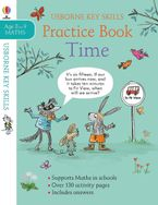 Key Skills Time Practice Pad 8-9 Paperback  by Holly Bathie