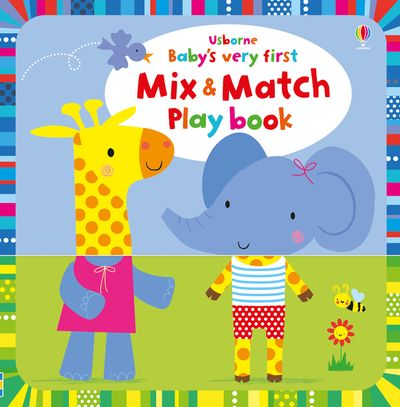 Baby's Very First Playbook Mix and Match