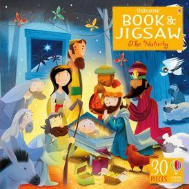 Usborne Book & Jigsaw: The Nativity