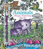 Magic Painting Animals Paperback  by ABIGAIL WHEATLEY