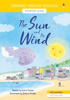 English Readers Starter Level: The Sun and the Wind Paperback  by Laura Cowan