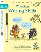 Wipe-Clean Writing Skills 8-9 Paperback  by Caroline Young