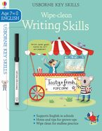 Key Skills Wipe-Clean: Writing Skills 7-8 Paperback  by Caroline Young
