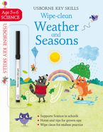 Wipe Clean Weather and Seasons 5-6 Paperback  by Holly Bathie