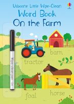 Little Wipe-Clean Word Book On the Farm