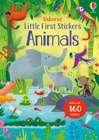 Little First Stickers Animals Paperback  by Kristie Pickersgill