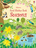 First Sticker Book Seasons Paperback  by Holly Bathie