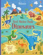 First Sticker Book: Dinosaurs Paperback  by HANNAH WATSON