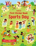 First Sticker Book: Sports Day Paperback  by Jessica Greenwell
