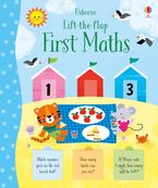 Lift-the-Flap First Maths Paperback  by Jessica Greenwell