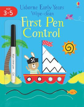 Early Years Wipe-Clean: First Pen Control