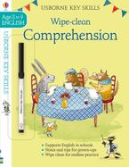 Key Skills Wipe-Clean: Comprehension 8-9 Paperback  by Caroline Young