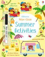 Wipe-Clean Summer Activities Paperback  by Kirsteen Robson
