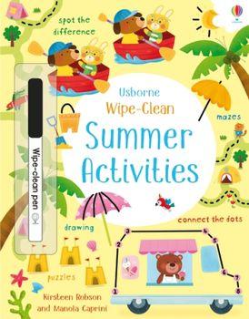 Wipe-Clean Summer Activities