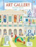 Art Gallery Sticker Book Paperback  by ABIGAIL WHEATLEY