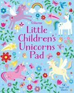 Little Childrens Unicorns Pad Paperback  by Kirsteen Robson