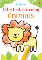 Little First Colouring Animals Paperback  by Kirsteen Robson