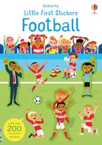 Little First Stickers: Football Paperback  by Sam Smith