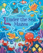 Under The Sea Mazes Paperback  by Sam Smith