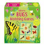 Matching Games: Bugs Matching Games Hardcover  by Kate Nolan