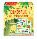 Dinosaur Matching Games Hardcover  by Sam Smith