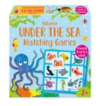 Matching Games: Under the Sea Matching Games Hardcover  by Katie Nolan