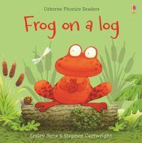 frog-on-a-log