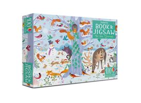 Usborne Book & Jigsaw: In the Forest