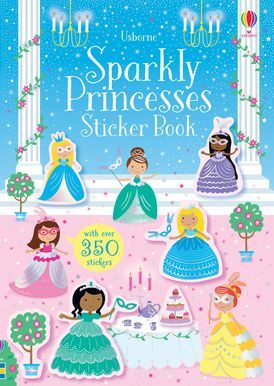 Little Sparkly Princess Sticker Book