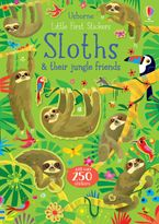 Little First Stickers: Sloths Paperback  by Kirsteen Robson