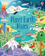 Planet Earth Mazes Paperback  by Zanna Davidson
