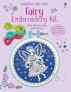 Embroidery Kit Fairy Hardcover  by Lara Bryan