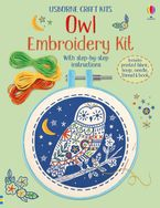 Embroidery Kit Owl Hardcover  by Lara Bryan