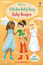 Sticker Dolly Dressing Stories 4: Baby Dragon Paperback  by Zanna Davidson