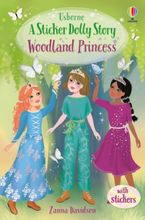 A Sticker Dolly Story: Woodland Princess
