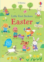 First Sticker Book Easter Paperback  by Felicity Brooks