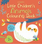Little Children's Animals Colouring Book