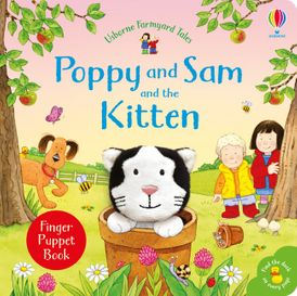Farmyard Tales: Poppy and Sam and the Kitten: Finger Puppet Book