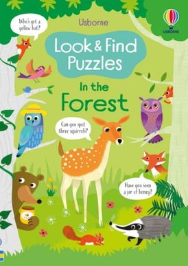 Look and Find Puzzles: In the Forest