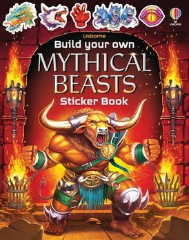 Build Your Own Mythical Beasts Sticker Book