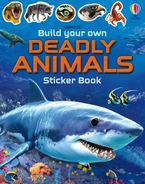 Build Your Own Deadly Animals Sticker Book