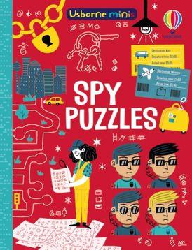 Mini Books: Spy Puzzles