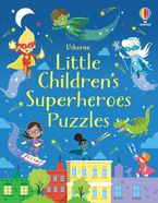 Little Children's Superheroes Puzzles Paperback  by Kirsteen Robson