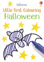 Little First Colouring: Halloween Paperback  by Kirsteen Robson