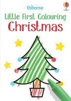 Little First Colouring: Christmas Paperback  by Kirsteen Robson