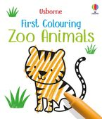 First Colouring Zoo Animals Paperback  by Kirsteen Robson