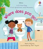 WHERE DOES POO GO? Hardcover  by Katie Daynes