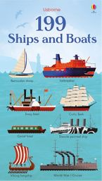 199 Ships And Boats Hardcover  by Kristie Pickersgill