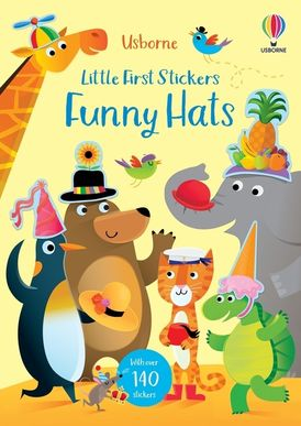 Little First Stickers Funny Hates